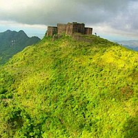 The largest fortress in the Western Hemisphere, the Citadelle, Massif du Nord, Haiti